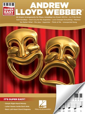cover image of Andrew Lloyd Webber--Super Easy Songbook