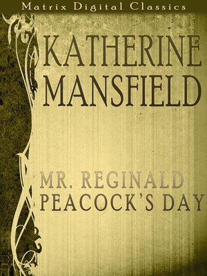 cover image of Katherine Mansfield