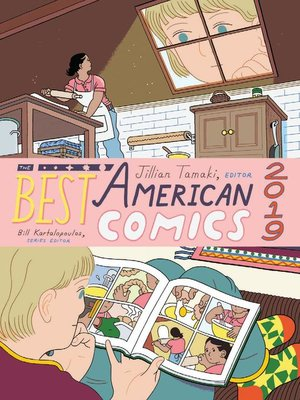 cover image of The Best American Comics 2019