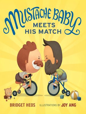 cover image of Mustache Baby Meets His Match
