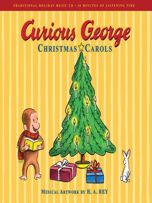 cover image of Curious George Christmas Carols