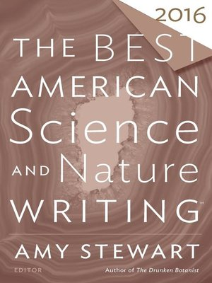 cover image of The Best American Science and Nature Writing 2016