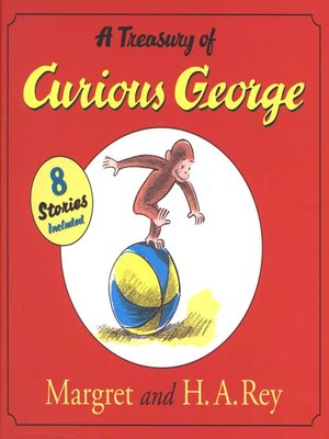 cover image of A Treasury of Curious George