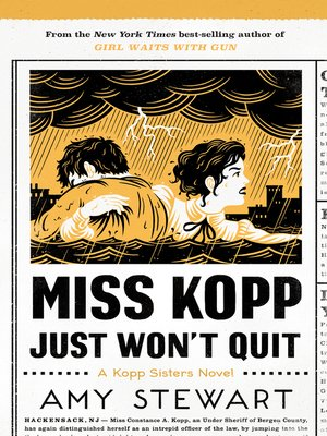 cover image of Miss Kopp Just Won't Quit