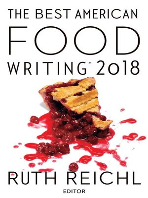 cover image of The Best American Food Writing 2018