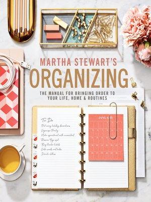 cover image of Martha Stewart's Organizing