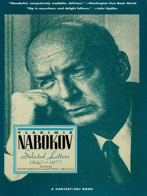 cover image of Vladimir Nabokov