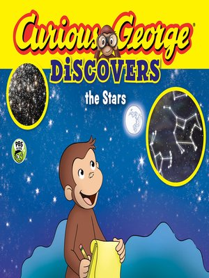 cover image of Curious George Discovers the Stars