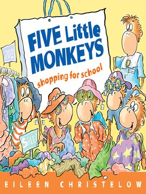 cover image of Five Little Monkeys Go Shopping