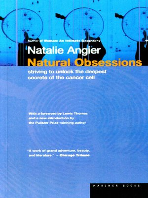 cover image of Natural Obsessions