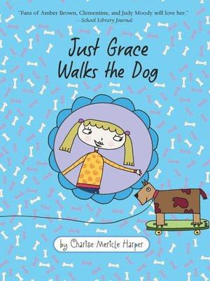 cover image of Just Grace Walks the Dog