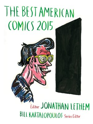 cover image of The Best American Comics 2015