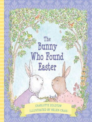 cover image of The Bunny Who Found Easter