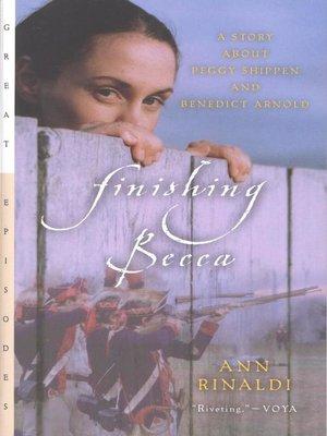 cover image of Finishing Becca