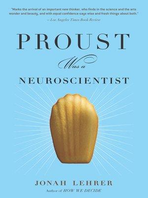 proust was a neuroscientist by jonah lehrer pdf