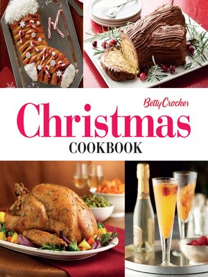 cover image of Betty Crocker: Christmas Cookbook