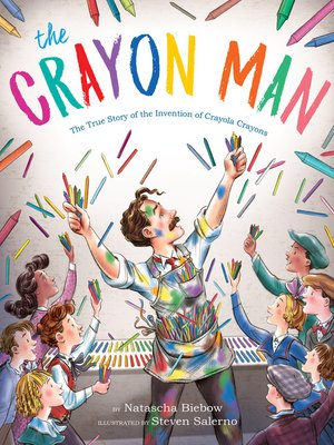 cover image of The Crayon Man
