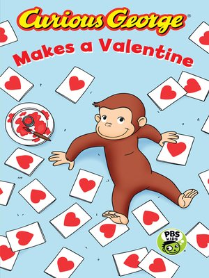 cover image of Curious George Makes a Valentine (CGTV)