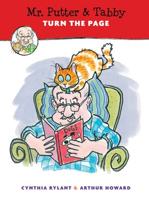 cover image of Mr. Putter & Tabby Turn the Page