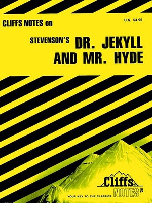 cover image of CliffsNotes on Stevenson's Dr. Jekyll and Mr. Hyde