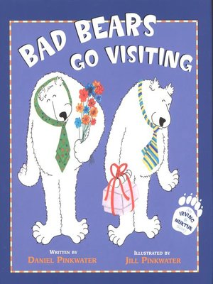 cover image of Bad Bears go Visiting