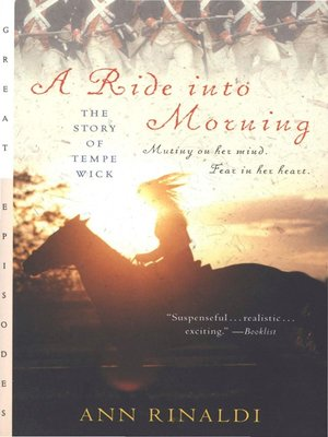 cover image of A Ride into Morning