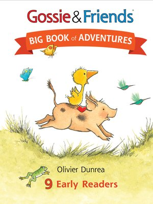 cover image of Gossie & Friends Big Book of Adventures