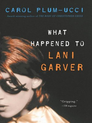 cover image of What Happened to Lani Garver