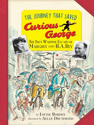 cover image of The Journey That Saved Curious George Young Readers Edition