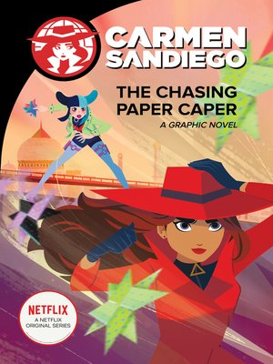 cover image of The Chasing Paper Caper