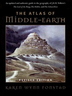 cover image of The Atlas of Middle-earth