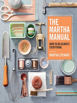 cover image of The Martha Manual