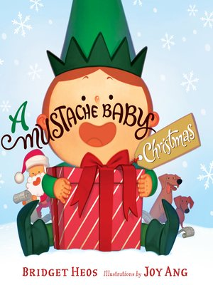 cover image of A Mustache Baby Christmas