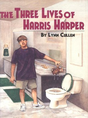 cover image of The Three Lives of Harris Harper