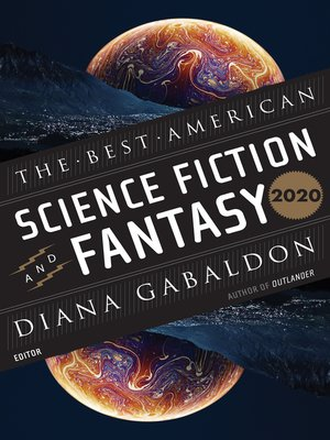 cover image of The Best American Science Fiction and Fantasy 2020