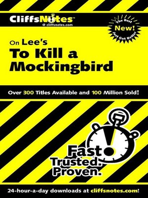 cover image of CliffsNotes on Lee's To Kill a Mockingbird