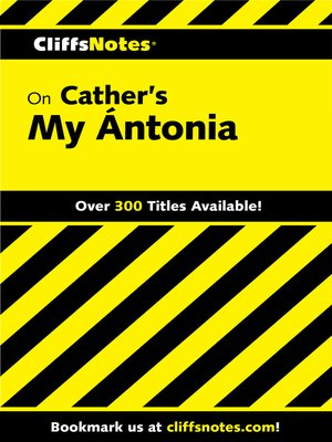 an analysis of the importance of the past in willa cathers novel my antonia In death comes for the archbishop, i believe willa cather writes the story both as a narrative and as a novel she does in fact give accounts of actions and events, yet she weaves a tale of fiction into the recallings.