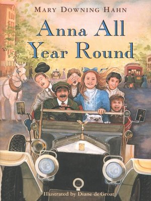 cover image of Anna All Year Round