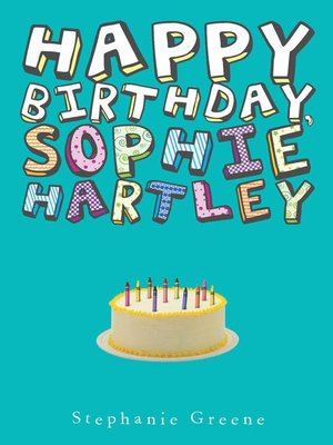cover image of Happy Birthday, Sophie Hartley