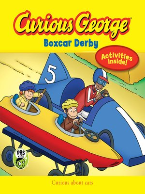 cover image of Curious George Boxcar Derby (CGTV)