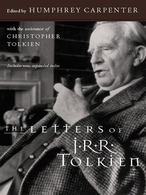 cover image of The Letters of J.R.R. Tolkien