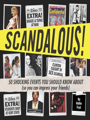 cover image of Scandalous!