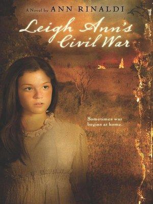 cover image of Leigh Ann's Civil War