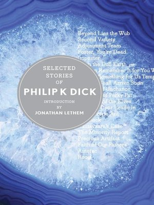 cover image of Selected Stories of Philip K. Dick