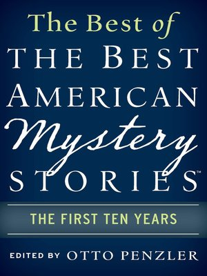 cover image of The Best of the Best American Mystery Stories