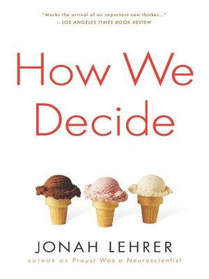 cover image of How We Decide