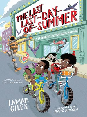cover image of The Last Last-Day-of-Summer