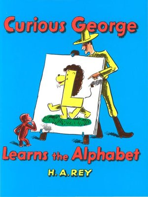 cover image of Curious George Learns the Alphabet