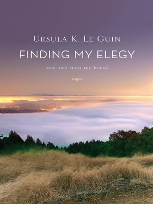 cover image of Finding My Elegy