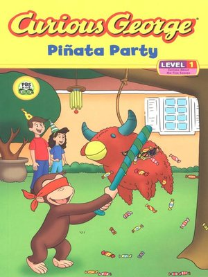 cover image of Curious George Pinata Party (CGTV Read-aloud)